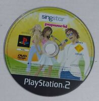 SingStar Popworld - PS2 Playstation 2 *Disc Only* FREE P&P