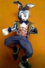 "*NEW* CLOTH ART DOLL (PAPER) PATTERN ""MAD MARCH HARE"" BY SUZETTE RUGOLO"