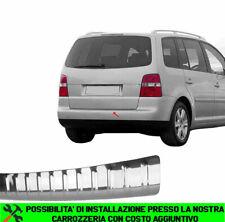 VW TOURAN I 2003-2010 PROTEZIONE PARAURTI POSTERIORE ACCIAIO INOX CROMATO