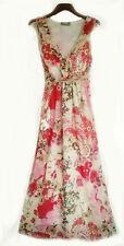 Wallis Robe taille empire floatytie Arrière Regency mariage bal Robe à fleurs 10 BN
