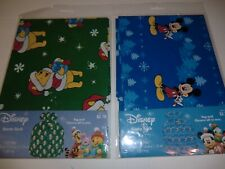 "Disney Mickey & Pooh Santa Sack Large Gift Bag 36"" X 44"""