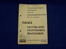 Rarität - MAG Ersatzteilliste 1026-SRL Standart