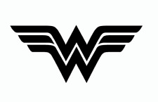 Wonder Woman vinyl decal sticker for wall, car, laptop many colors and sizes