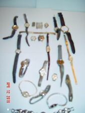 Collection of various wristwatches, bands & parts - Pulsar,Timex, Armitron, etc.
