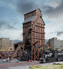 Walthers Cornerstone N Wood Coaling Tower Kit #933-3823