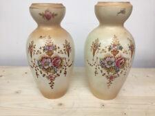 coppia di vasi antichi inglesi in Ceramica circa 1880