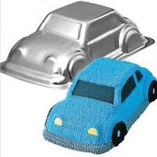 Aluminum Alloy Cake Pan Mold Car Shape Tin Tray Sugar Paste Chocolate Mold