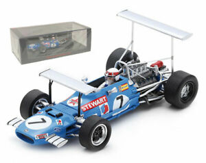 Spark S7183 Matra MS10 South Africa GP 1969 Champion - Jackie Stewart 1/43 Scale