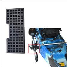 Kayak Trolling Motor Block Board Mount Bracket Canoe Boat Engine Mount Rack