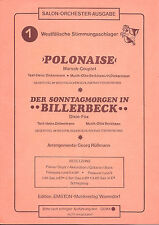 Noten für Orchester * Polonaise * Der Sonntagmorgen in Billerbeck