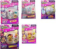 SHOPKINS WILD STYLE DOLLS TOYS WITH PET ASSORTMENT SET 5