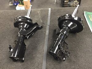 2 HONDA CIVIC TYPE R EP3 FRONT RH LH SHOCK ABSORBER SHOCKER STRUT PAIR