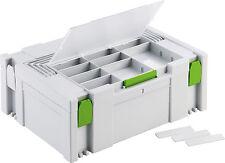 FESTOOL Systainer SYS 2 DF Classic Deckel fach sortierfach Sortimentfach 496153