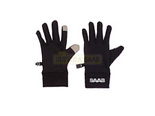 SAAB GENUINE UNISEX WINTER TOUCHSCREEN GLOVES BLACK BRAND NEW RARE GIFT PRESENT