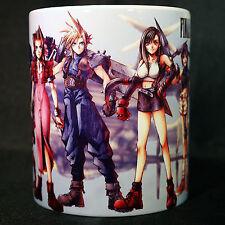 FINAL FANTASY 7 VII  - Coffee MUG CUP - Cloud - Tifa - Aerith - Sephiroth - RPG