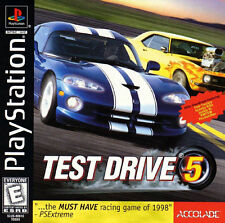 Test Drive 5 PS1 Great Condition Complete Fast Shipping