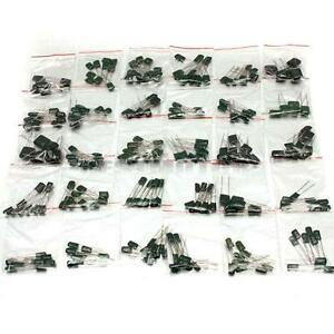 278Pcs 30 Values Polyester Film Capacitor Assorted Assortment Kit 470pf T