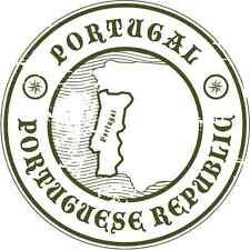 "Portugal Travel Car Bumper Sticker Decal 5"" x 5"""