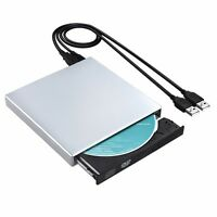 External USB2.0 CD RW Burner DVD/CD Reader Player For Windows Mac OS Laptop