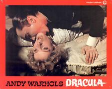 Andy Warhol's Dracula ORIGINAL Aushangfoto EA Joe Dallesandro / Roman Polanski