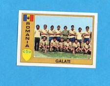 EUROFOOTBALL 76/77-PANINI-Figurina n.246- GALATI -TEAM-ROMANIA-Recuperata