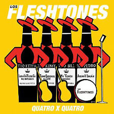 Los Fleshtones ‎– Quatro X Quatro Vinyl EP Yep Roc 2012 NEW/SEALED 180gm