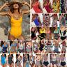 Women's Bikini Set One-Piece Push Up Bandage Monokini Swimsuit Bathing Swimwear