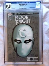 Moon Knight 188 CGC 9.8 McKone Variant 1st Sun King Appearance  RARE 1 of 7 MCU