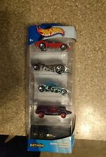 rare 2002 hotwheels batman gift pack with chrome batmobile nib
