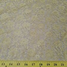 25 PATTERNS COLORS  AVAILABLE FLORAL RASCHEL OVERLAY LACE FABRIC $4.95/YARD