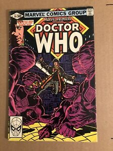 Marvel Comics Premiere Doctor Who Issue# 59 (1981 Series) 1st Marvel 4th Doctor