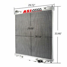 6.0L Aluminum Radiator For 2003-2007 FORD F250 F350 Powerstroke AT/MT 04 2005 06