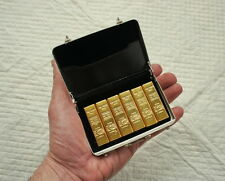 1/6 Scale Miniature Briefcase and Six Gold Bars Diorama
