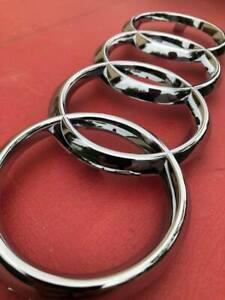 Logo Rings AUDI Grille Tt 8S Since 2014 Original Manufacturer