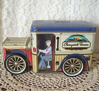 Cherrydale Farms Delivery Truck Tin Bank