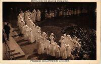 CPA  Hotel-Dieu de Beaune (Cote-d'Or) - Procession de la Féte-Dieu au.. (354114)