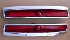 1974-1976 CADILLAC DEVILLE, FLEETWOOD USED PAIR OF LEFT REAR SIDE MARKERS. LI LO