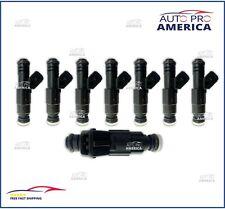 (8)OEM BOSCH Gen III Fuel Injectors Chevy GMC 7.4L 454cid HP Torque 0280155884