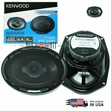 2X NEW Kenwood KFC-D691 Power CAR AUDIO 6X9