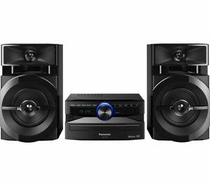 PANASONIC SC-UX100E-K Bluetooth Megasound Party Hi-Fi System - Black