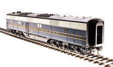Broadway Limited 5399 EMD E6 B-unit, B&O #58x, Blue, Gray, Black Scheme