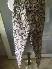 Pantalon Strech Jean Extensible Motif Lezard T34 Marque Tark1