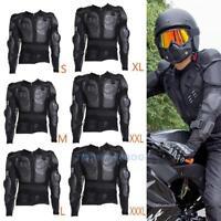Motocross Dirt Bike Body Armor Jacket Spine Chest Shoulder Motorcycle Protection