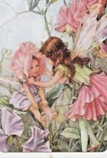 Beautiful Fairy Children Sweet Pea - Wide Linen Swap Playing Card