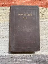 METHODIST EPISCOPAL CHURCH SOUTH - DOCTRINES & DISCIPLINE Vtg 1910 Hardback Book