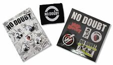 No Doubt - Pin Buttons, Sticker Sheet And Wristband Gift Set