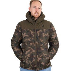 Fox Camo Khaki RS Jacket NEW Carp Fishing Clothing *All Sizes*