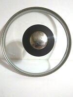 """Paula Deen 5 1/4"""" Inner Sauce Pan Lid Black Silver Handle"""