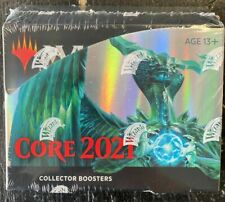 MTG MAGIC THE GATHERING CORE 2021 FACTORY SEALED COLLECTOR'S BOOSTER BOX