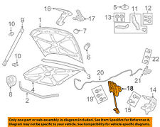 GM OEM Hood-Lock Latch 92258586